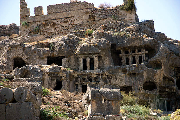 The captivating ancient city of Tlos - Property Turkey
