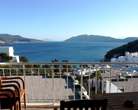 Bodrum harbour property
