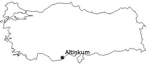Altinkum map
