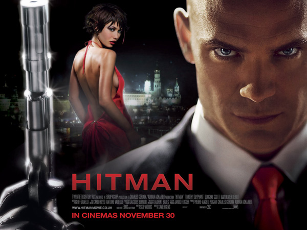 Hitman 2007 movie was shot in Istanbul Turkey