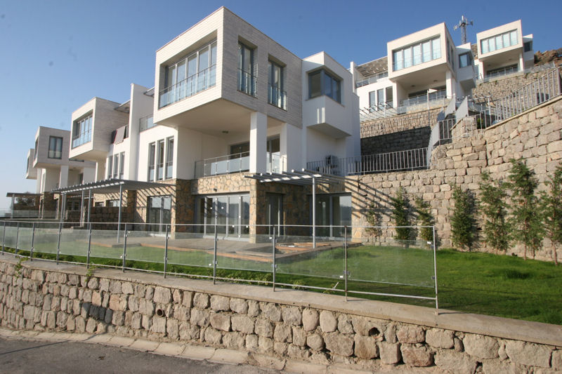 Modern homes in Bodrum