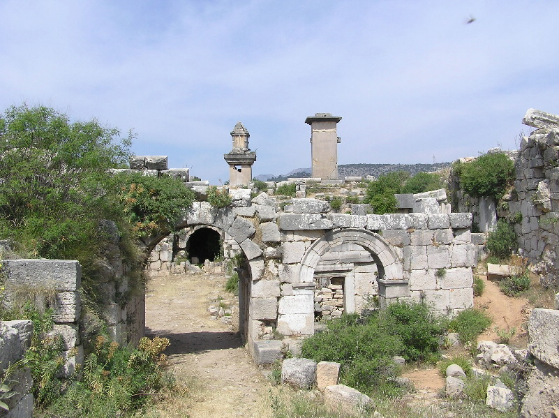 Xanthos Turkey