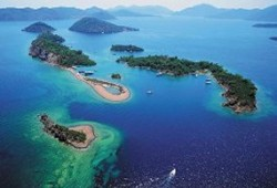 Head for Sovalye Island in the Gulf of Fethiye