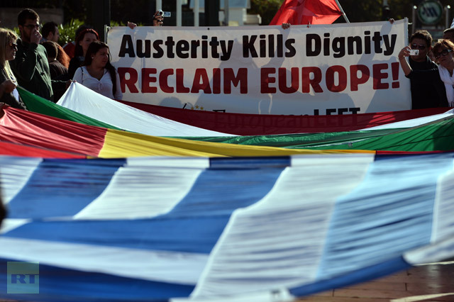 Anti-austerity protests in Europe