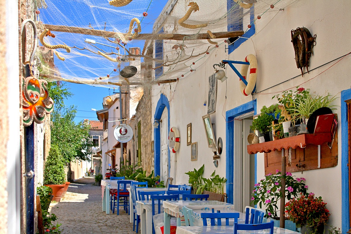 Alacati village Turkey