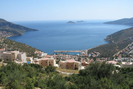 views over Kalkan