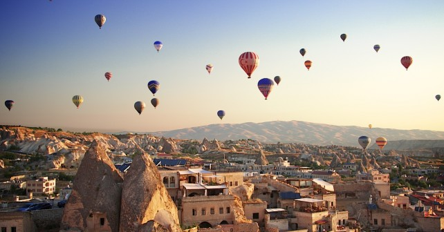 Baloons over Cappadocia Turkey