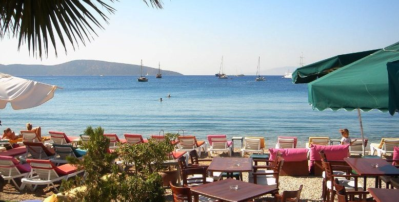 Beach in Bodrum