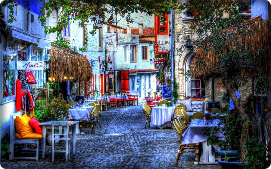 Beautiful Alacati village