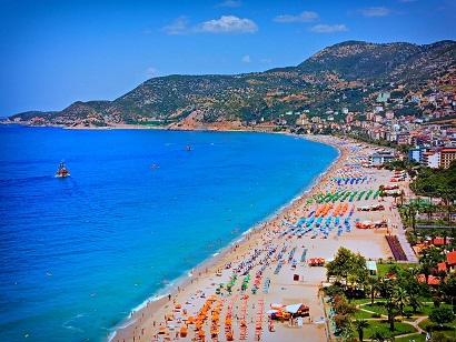 Buy property in Alanya near sandy beaches