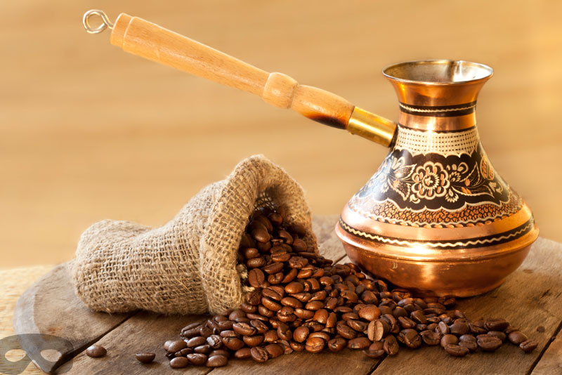 Relax with your Turkish coffee