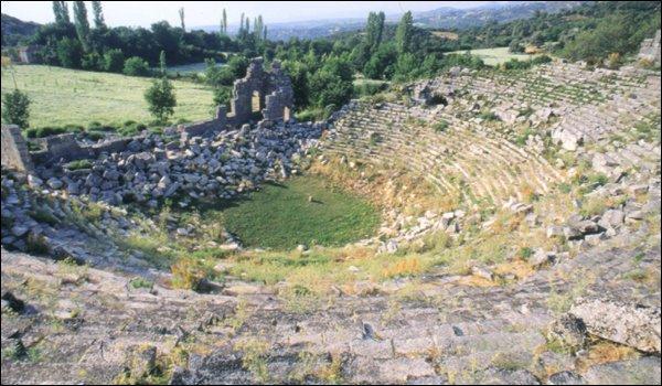 Tlos Roman theatre