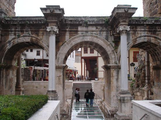 Hadrian's Gate and Antalya's Old Town - Property Turkey