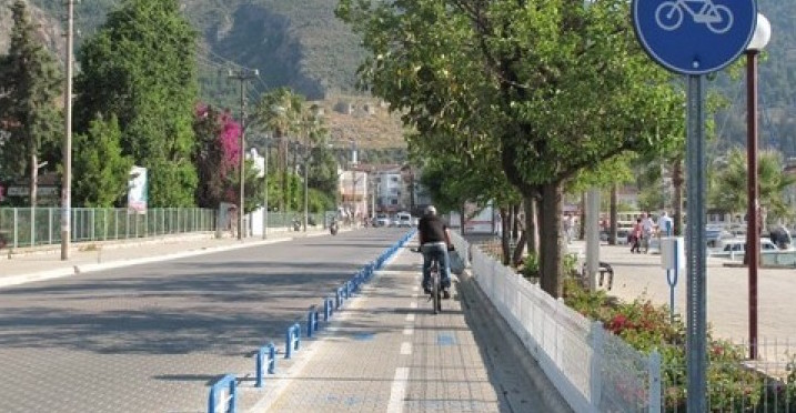 Cycle paths in Fethiye