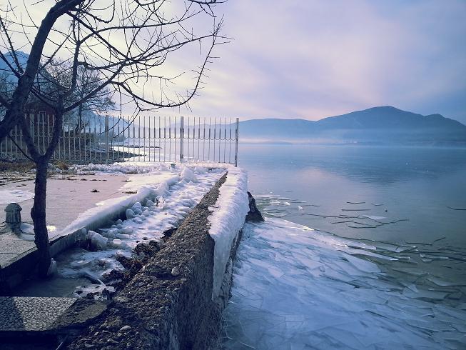 Frozen Lake Egirdir