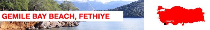 Gemile Bay beach Fethiye
