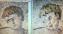 Botched mosaic restoration makes laughing stock of Turkish museum