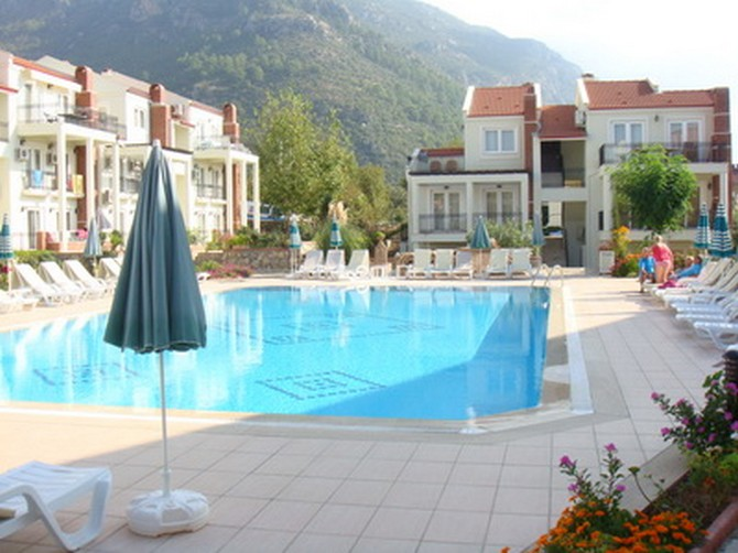 Holiday apartments in Hisaronu