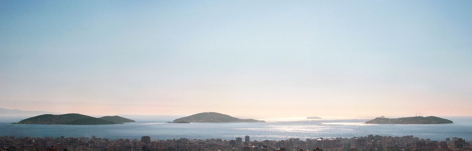 Istanbul Islands view