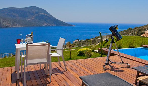 Kalkan property for sale with sea view