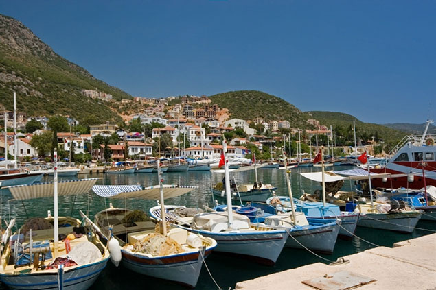 Sailing in Kas