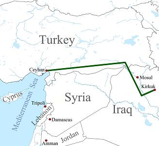 Kirkuk Ceyhan Crude oil pipeline