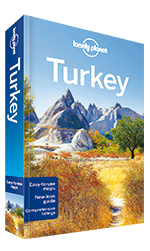Lonely Planet guidebook to Turkey