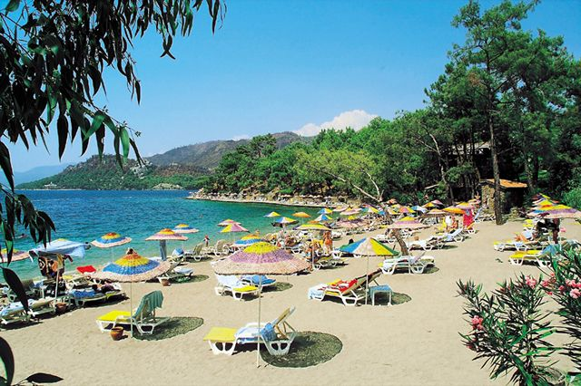 Beach in Marmaris