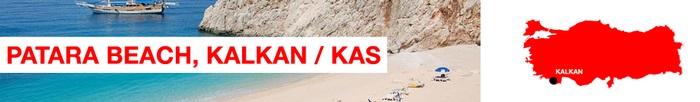 Patara beach Kalkan and Kas
