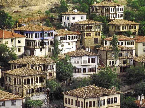 Safranbolu houses in Turkey