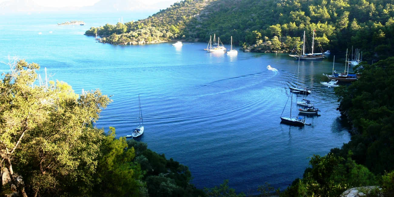 Sailing in Gocek