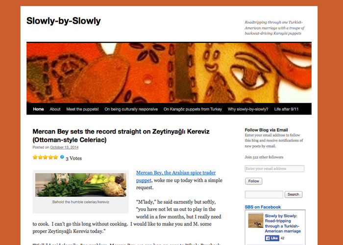 Slowly by Slowly Blog