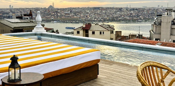 Soho House Istanbul view