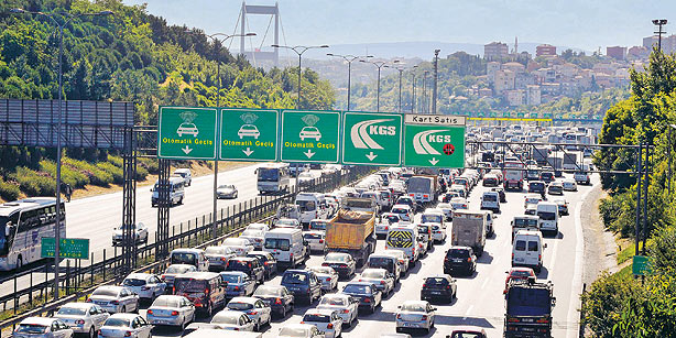 Traffic in Istanbul