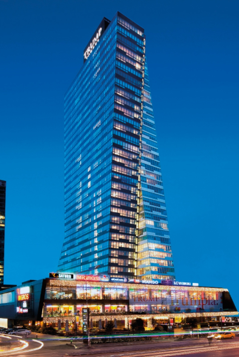 Trump Towers Istanbul Luxury Apartments For Sale