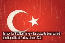 Interesting & fun facts about Turkey