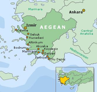 Turkish Aegean region