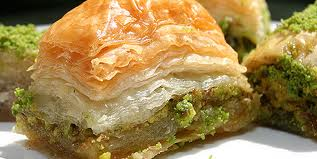 Turkish Baklava desert