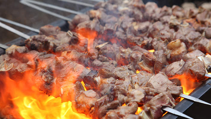 Turkish barbecue