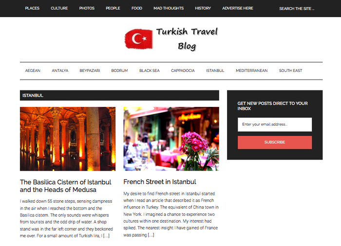 Turkish travel blog