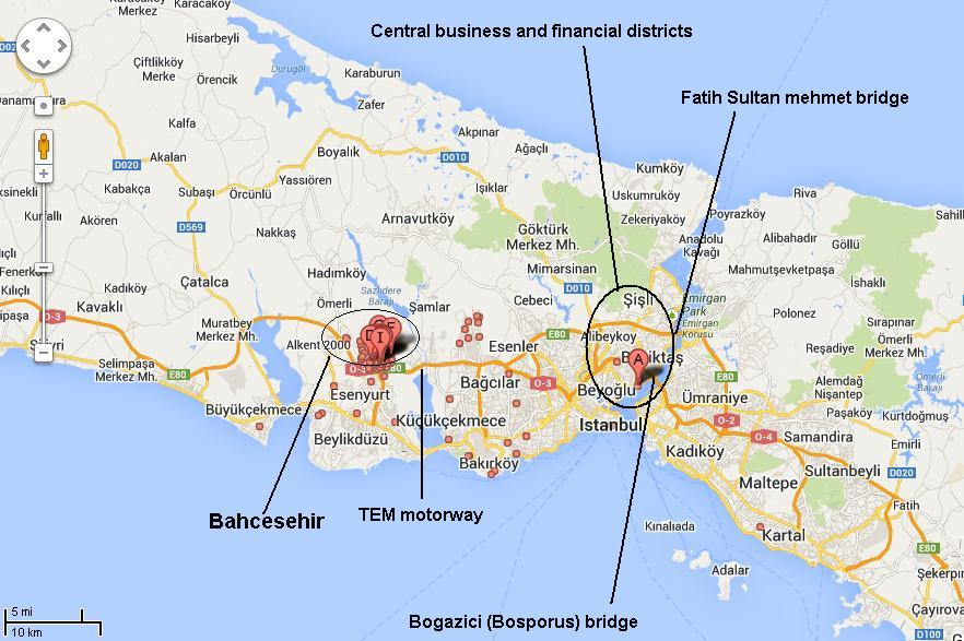 About Bahcesehir Istanbul Bahcesehir Location Weather