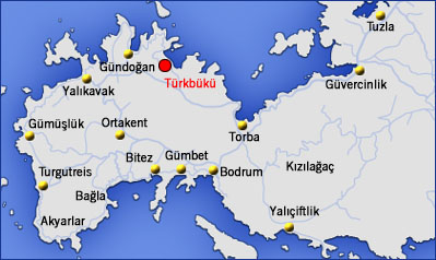 where is Turkbuku map