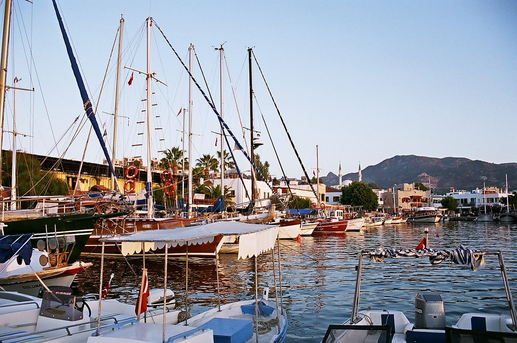 Yalikavak harbour