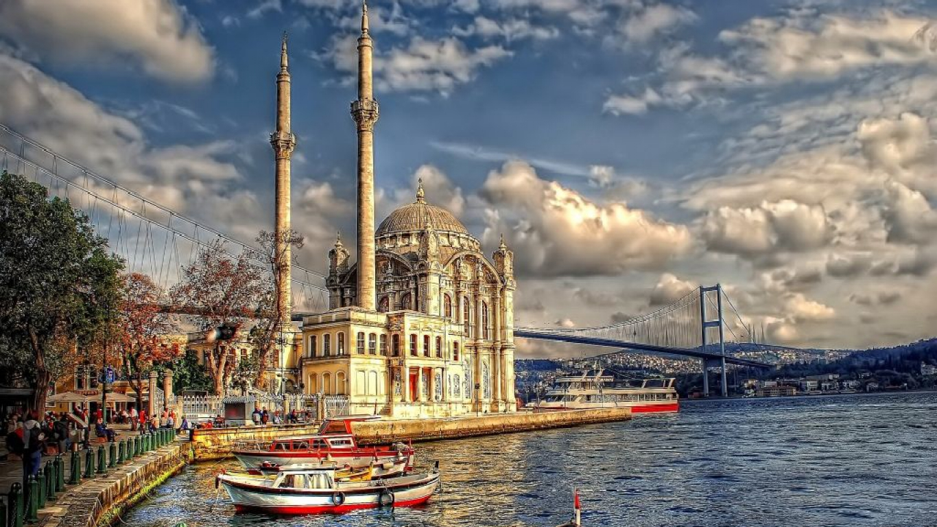 Divided heart of a city: the beautiful Bosphorus