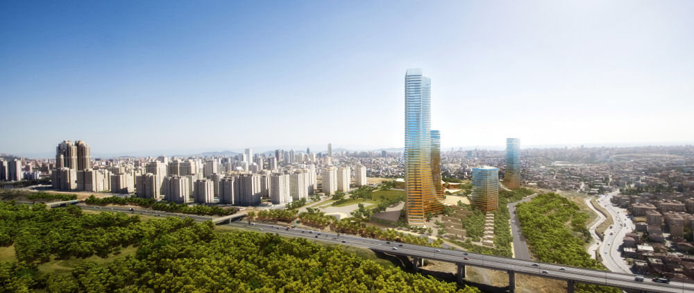 Fast profits for early investors in Atasehir, Istanbul's new financial hub