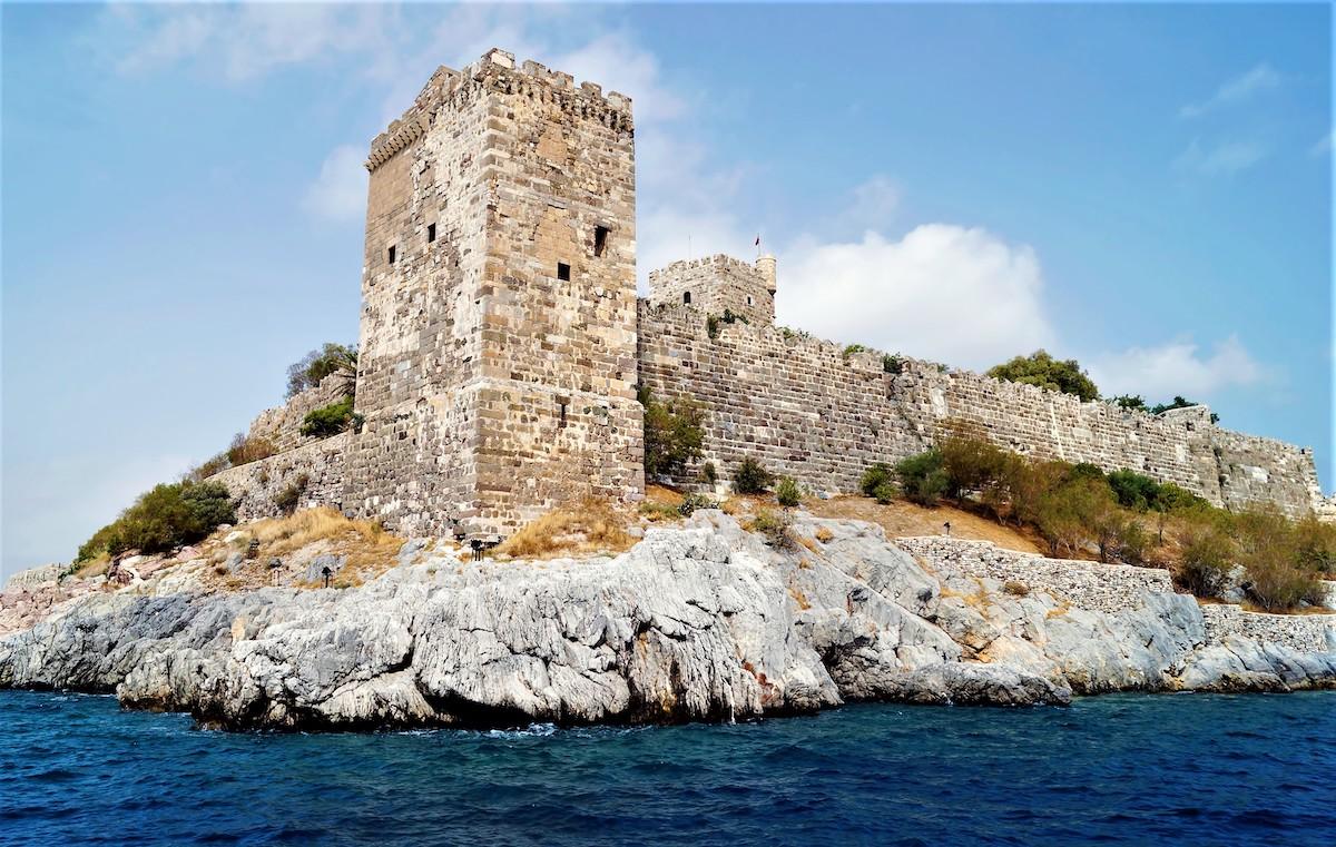 Замок Бодрум: дом для настоящего рыцаря