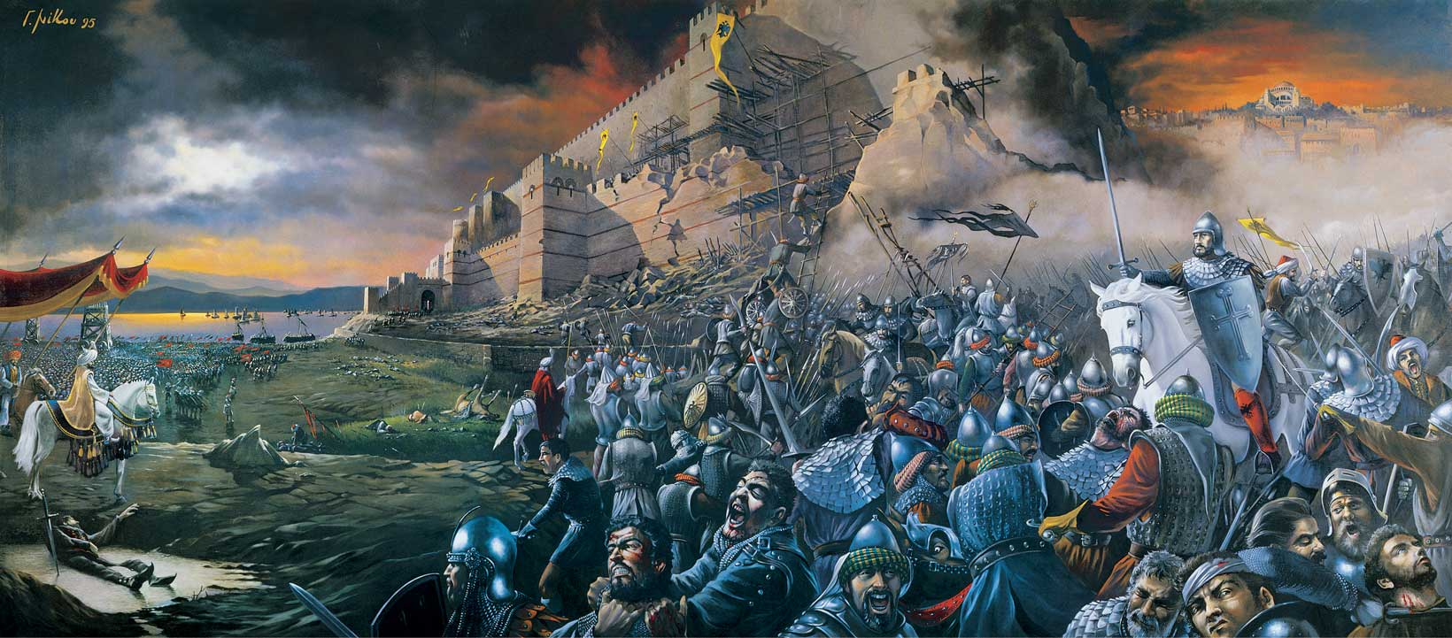 A tale of blood and slaughter: the fall of Constantinople