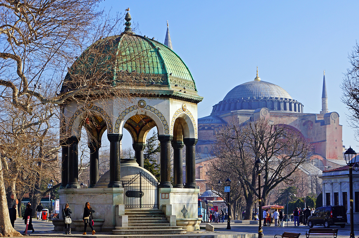 7 of Istanbul's Fascinating Fountains