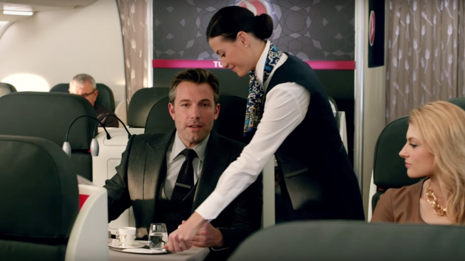 Ben Affleck's Bruce Wayne invites visitors to Gotham via Turkish Airlines