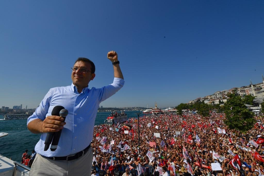 Erdogan, out: Istanbul's firm NO vote in mayoralty poll